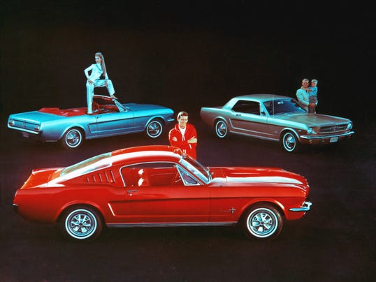 Ford pitched the original Mustang as a car with enough variants for