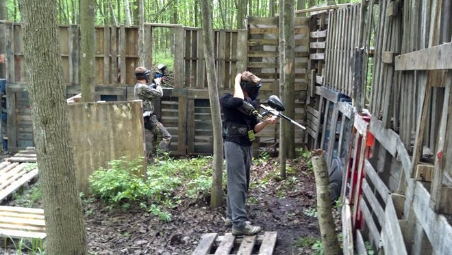 The last local paintball game of the season will take place this weekend in Burtchille.