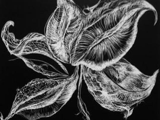 """End of Season Milkweed"" by Kathryn M. Niles will be on display as part of ""Transience and Continuance."""