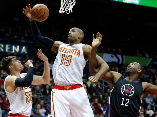 USP NBA: LOS ANGELES CLIPPERS AT ATLANTA HAWKS S BKN USA GA