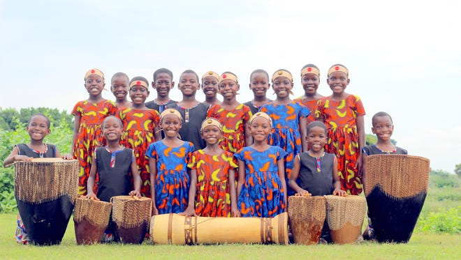The African Children's Choir performs July 20 in Ruidoso.