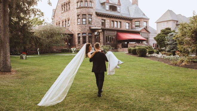Dating back to the 1880s, Belhurst Castle overlooks Seneca Lake and features original architectural details and historic charm.