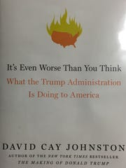 "Cover of ""It's Even Worse Than You Think: What the Trump Administration is Doing to America"" by David Cay Johnson"