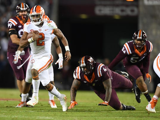 Clemson Virginia Tech Football