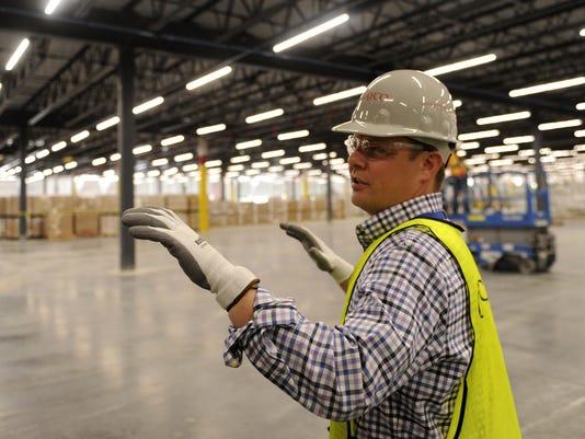 Inside the new Amazon center