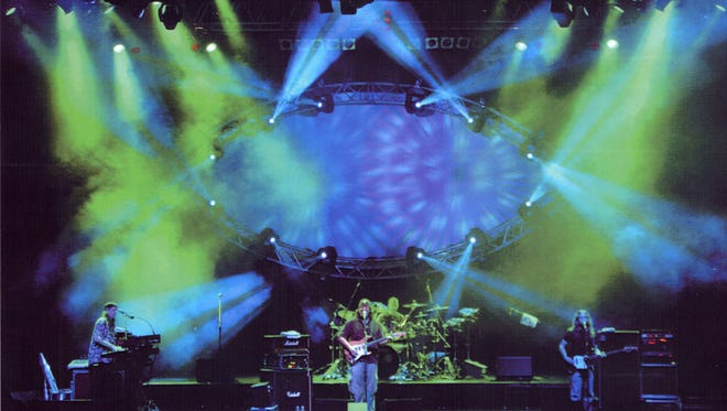 The Machine performs Pink Floyd at the Scottish Rite Auditorium in Collingswood on Friday, Feb. 10.