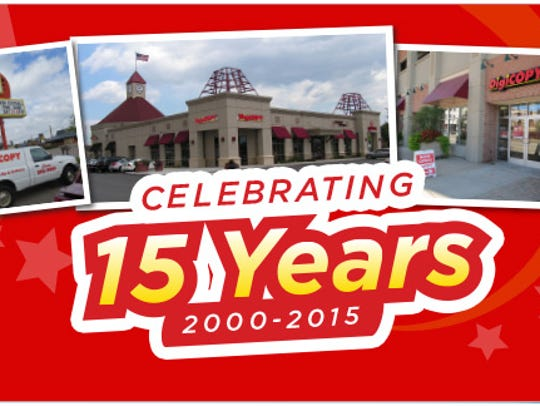 DigiCOPY is celebrating 15 years in business in 2015.