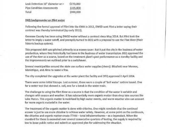 Page 58 of Gov. Rick Snyder's Flint e-mails.