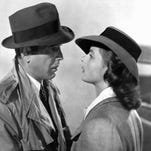 """Humphrey Bogart and Ingrid Bergman in a scene from the classic film """"Casablanca."""" The film will be screened Saturday during the Saenger Theatre's Summer Classic Movie Series."""