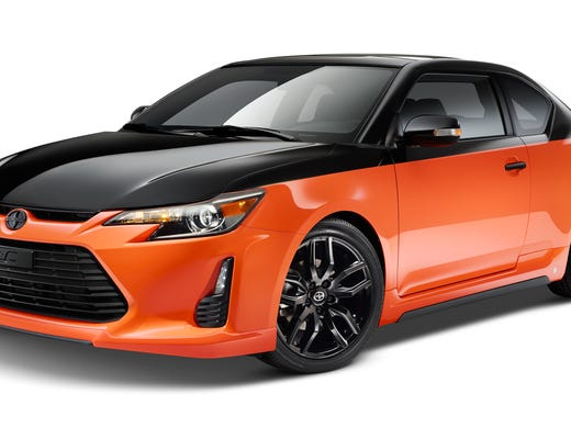 Scion Tc Custom >> Scion S Custom Orange Tc Goes On Sale