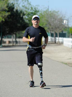 Warren Castleberry of Tulare is doing the End of the Trail half-marathon Saturday.