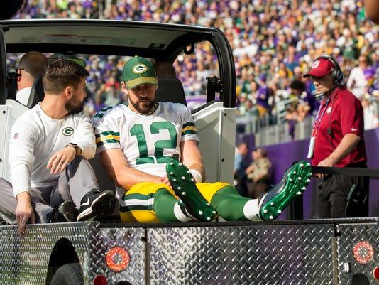 USP NFL: GREEN BAY PACKERS AT MINNESOTA VIKINGS S FBN MIN GB USA MN