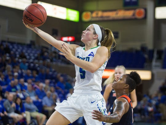Senior point guard Lisa Zderadicka is a big reason that this FGCU team will be so speedy.