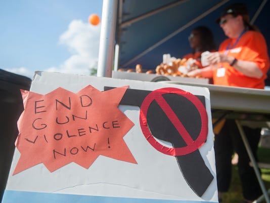 Camden residents wear orange for gun violence awareness