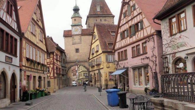 Reader photo - The streets of Rothenberg ob der Tauber.