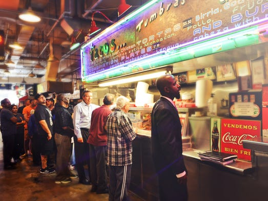 Tacos Tumbras Food Truck