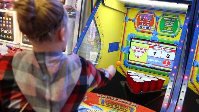 Lucky Leo's arcade offers fun for all ages year around on the boardwalk in Seaside Heights.