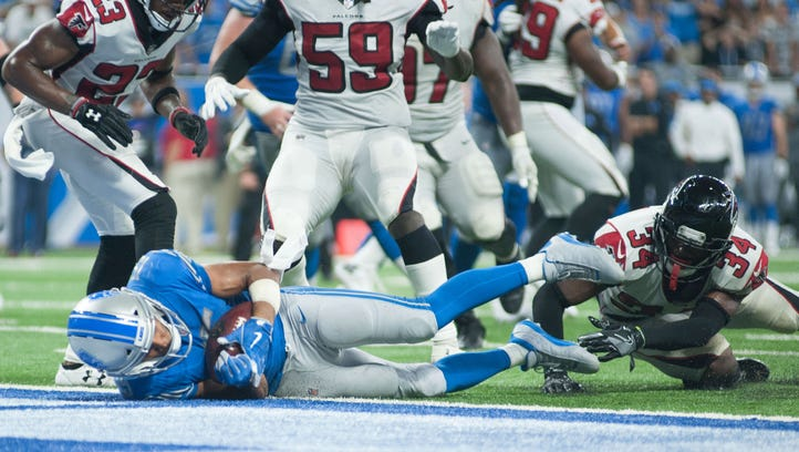 Ripped off? Jubilation becomes disgust in Detroit Lions' loss to Falcons