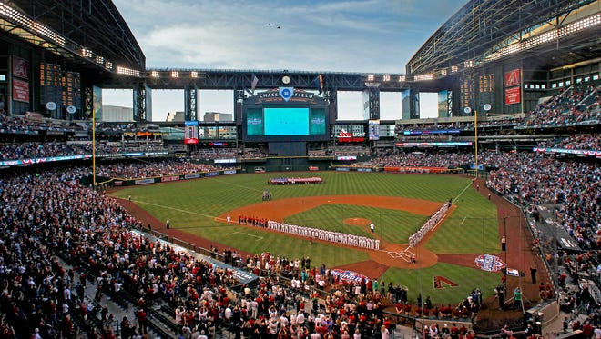 When the roof is open, the ball seems to carry more at Chase Field.