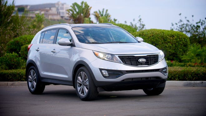 The 2016 Kia Sportage had the best score in its segment in the J.D. Power Initial Quality Survey and helped the brand finish first overall among all automakers.