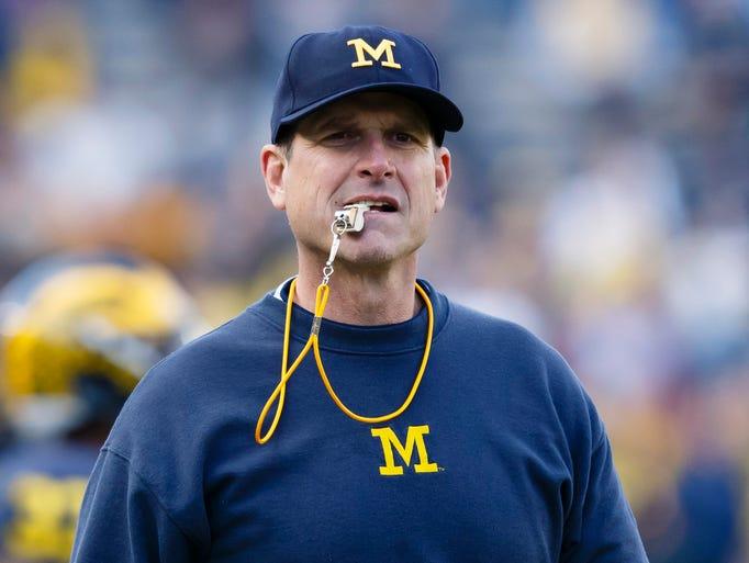 Michigan Wolverines head coach Jim Harbaugh - $9,004,000.