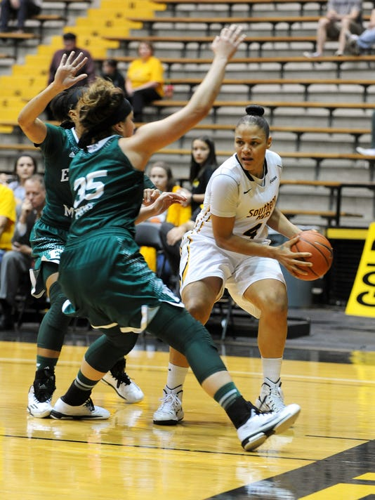 Lady Eagles host Eastern Michigan in WNIT Tournament | Gallery