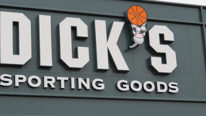 The entrance of the new Dick's Sporting Goods Conklin distribution Center.