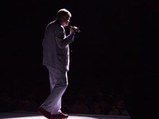 Garrison Keillor Tour Stage