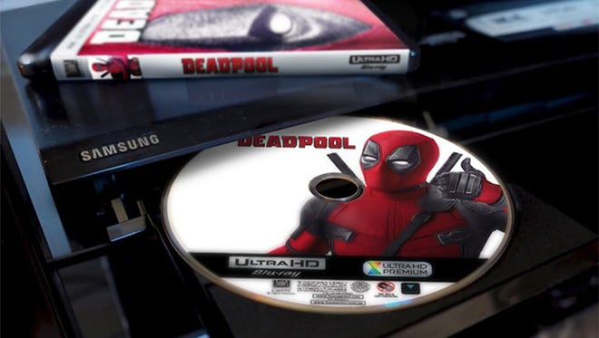 'Deadpool' was one of the top-selling 4K Ultra HD Blu-ray Disc titles in 2016.