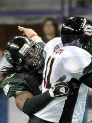 Linebacker Maurice Simpkins played for the Green Bay Blizzard in 2010 and became the first player in franchise history to be signed to the Packers' 53-man roster later that year.