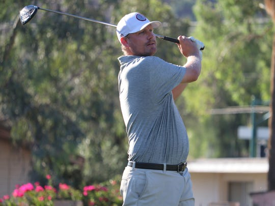 Chad Wilcox at the 93rd Arizona Amateur Championship