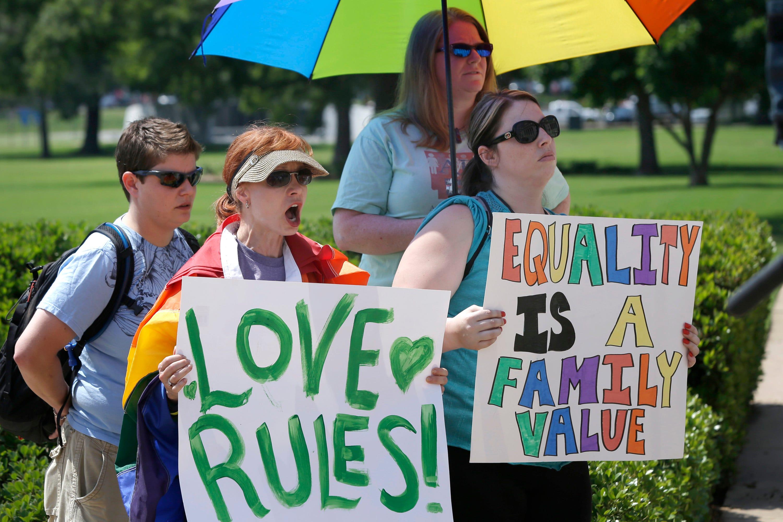 Arkansas governor bans same sex marriage