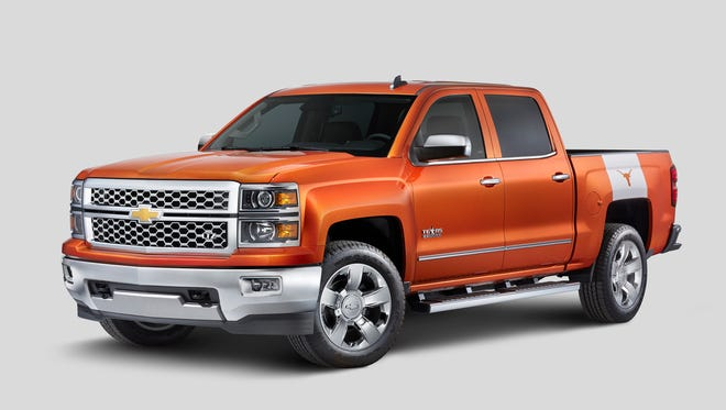The 2015 Chevrolet Silverado University of Texas Edition shows how important tesxs is to overall truck sales. Silverado sales boomed, helping Chevy and its GM parent to a big December.