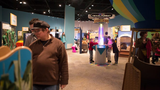 The Trivial Pursuit exhibit at the Strong Museum of Play will be going on through May 10.