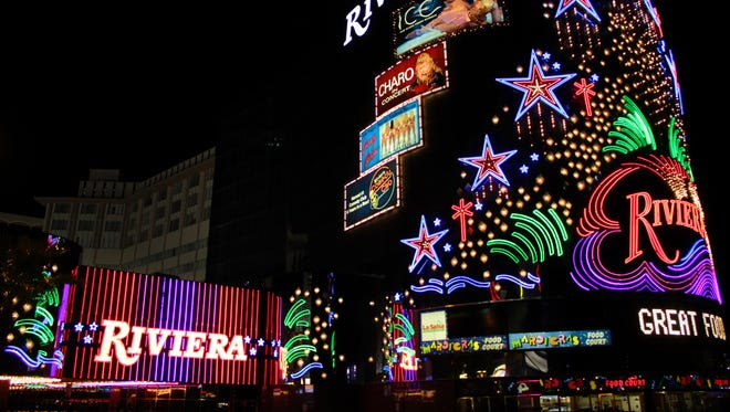Riviera Hotel and Casino in Las Vegas.