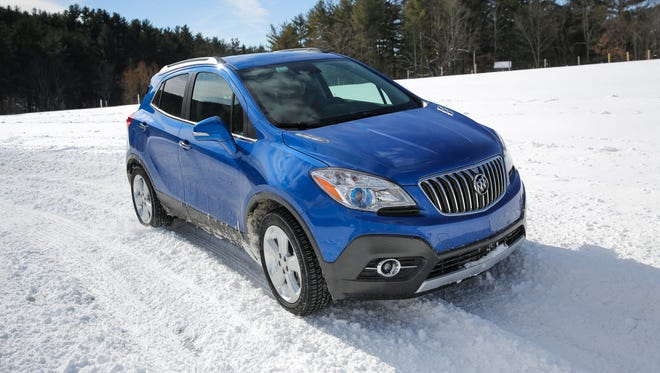 """Buick Encore, which pioneered the """"mini-ute"""" segment in the USA, is the only Buick model that reported better sales in February than a year ago."""