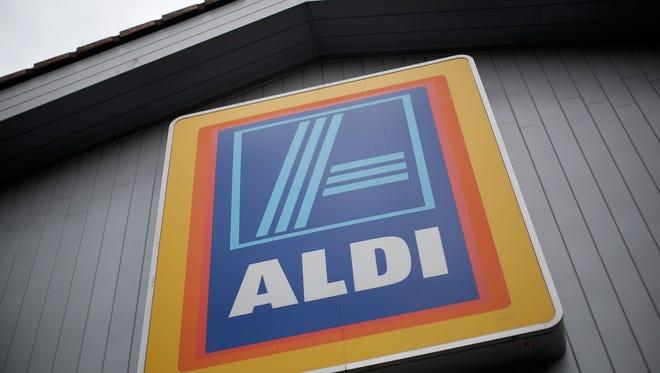File photo of an Aldi supermarket in London.
