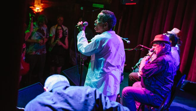 John Boutté performs at DBA, a popular live music venue in New Orleans.