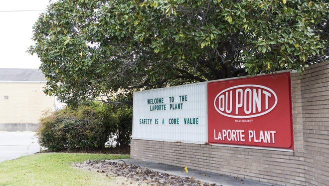 The DuPont plant in La Porte, Texas, is shown in November. Federal regulators have issued additional fines against the company following four were killed at the factory last year.