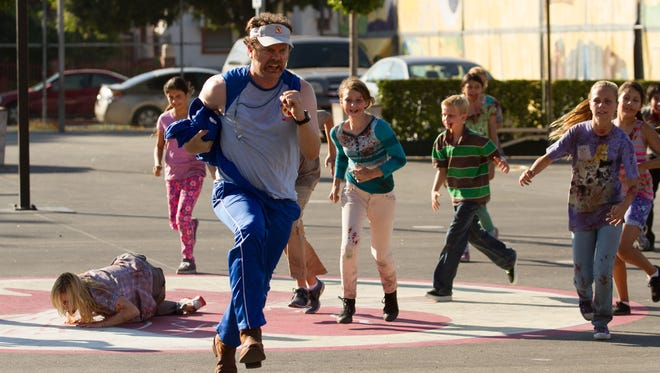 Wade (Rainn Wilson), a P.E. teacher, gets a workout running from ravenous, infected fourth-graders.