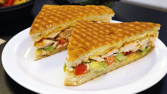 Grilled Chicken and Avocado Panini at Fresh Millions.