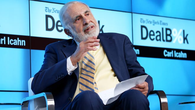 Many commentators will no doubt accuse Carl Icahn of hypocrisy.