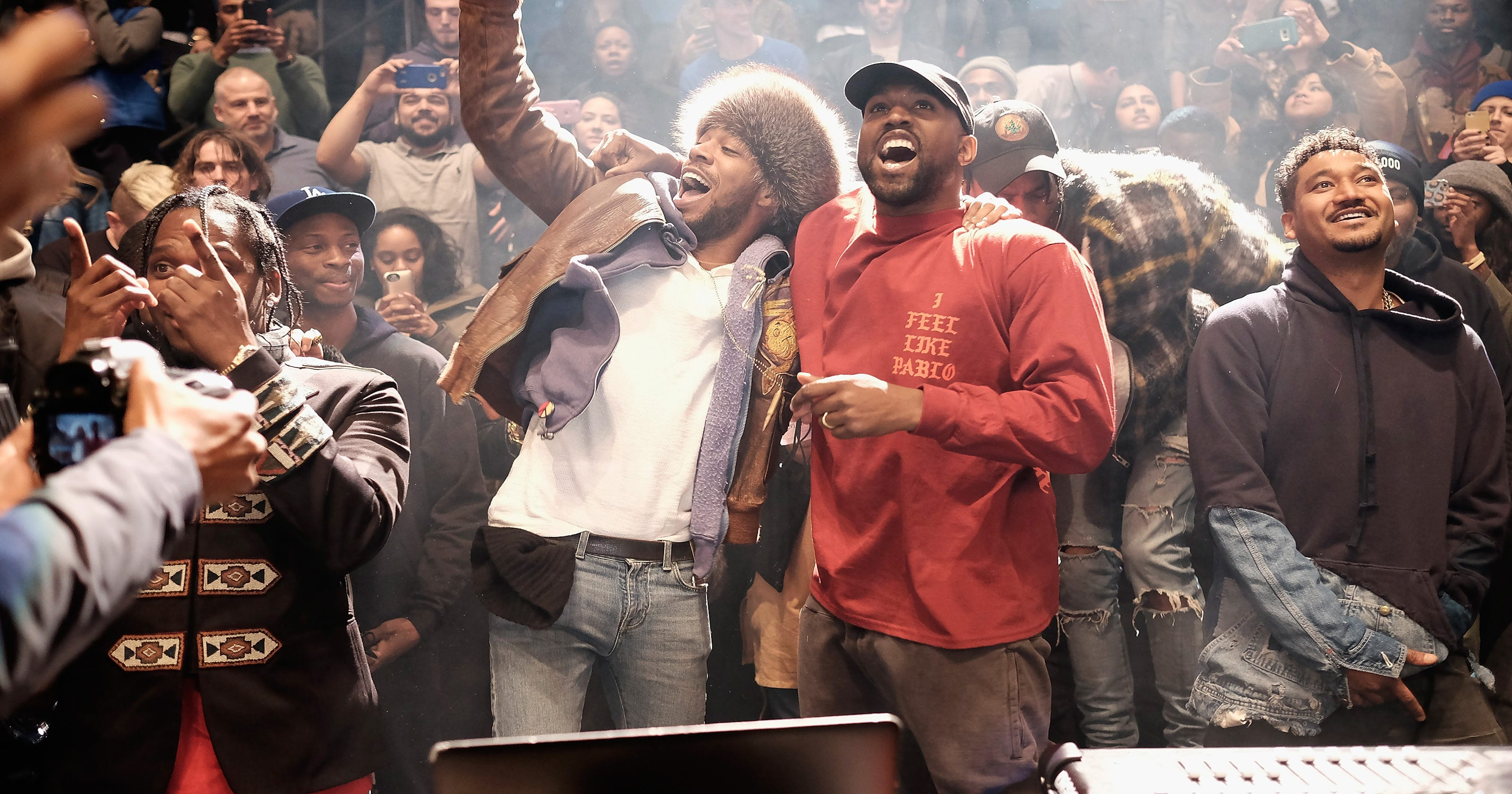 885e11bf1dc1e Kanye West unveils new album