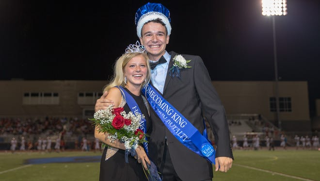 Cadie Kiser and Anthony Gavazzi  are the 2016 Chambersburg Area Senior High School Homecoming Queen and King.
