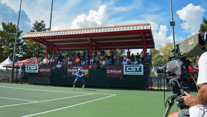 The UL tennis team will host the John Breaux Ragin' Cajun Tennis Classic this Friday through Sunday.