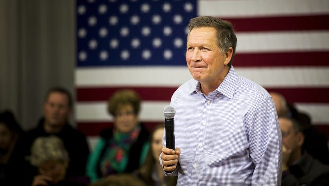 "Gov. John Kasich said any plan to ""retreat from the world"" would be ""crazy."""