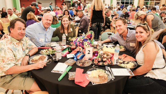 More than 330 guests helped Camp Aranzazu raise $230,000 to underwrite two-thirds of the cost for campers to attend at this years eighth annual ZaZu: Fiesta, Fishing & Fun event Saturday, Oct. 13.