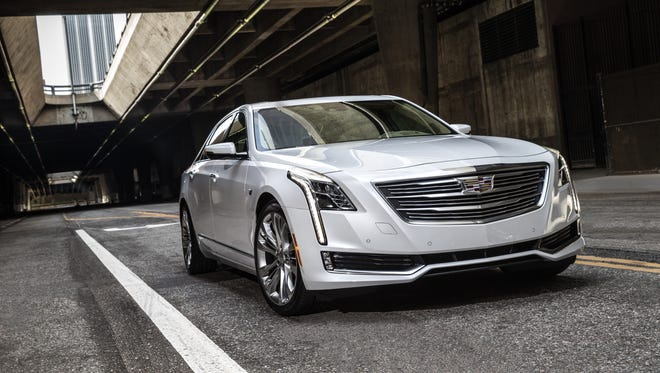 Cadillac will begin selling the plug-in hybrid version of its CT6 sedan in the U.S. next spring.