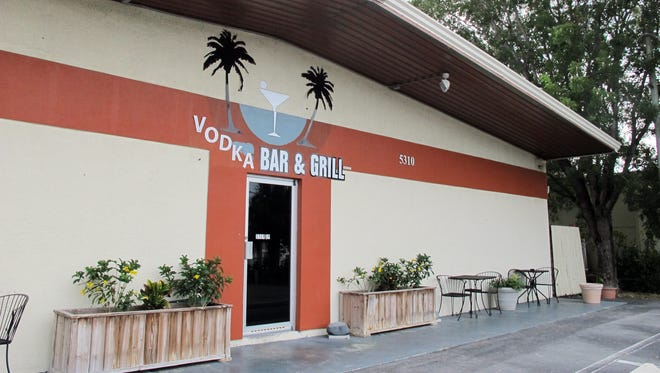 Vodka Bar & Grill has replaced Weekend Willie's on Shirley Street just north of Pine Ridge Road in North Naples.