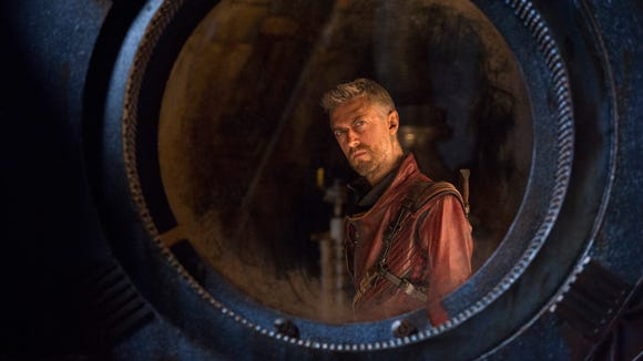 Kraglin (Sean Gunn) deals with the loss of a buddy